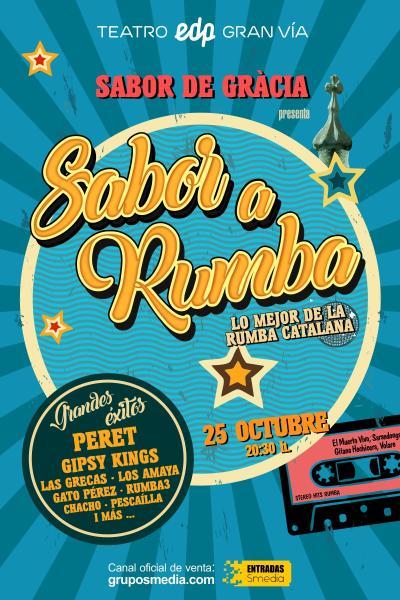 Sabor a Rumba – Concierto Madrid