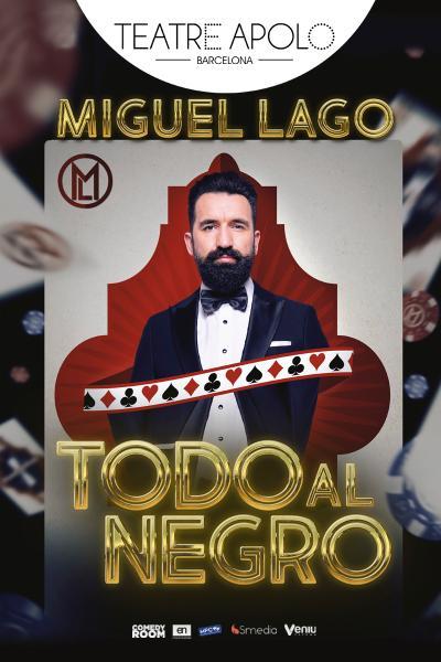 Miguel Lago - Todo al negro - Barcelona