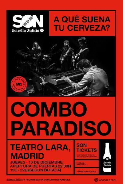 Combo Paradiso en Madrid   SON Estrella Galicia