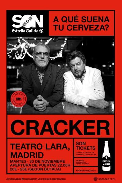 Cracker en Madrid   SON Estrella Galicia