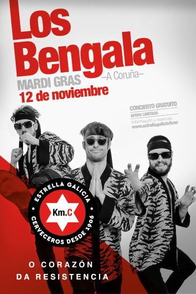 Los Bengala en Coruña | KM.C