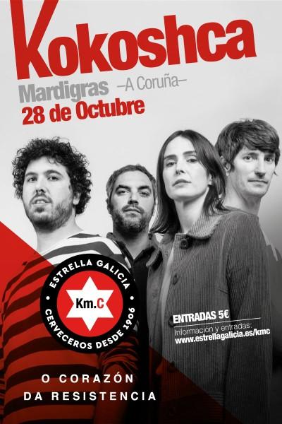 Kokoshca en Coruña   KM.C