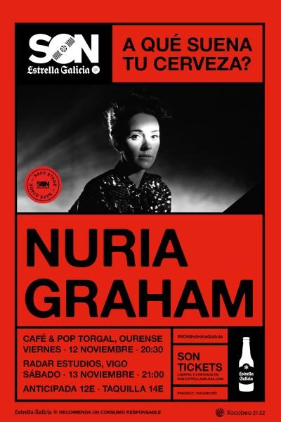Nuria Graham en Ourense | SON Estrella Galicia
