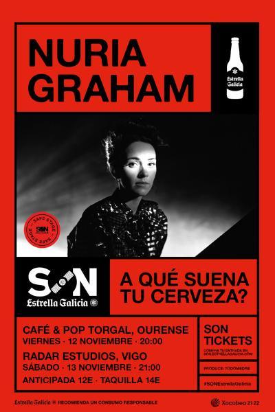 Nuria Graham en Vigo   SON Estrella Galicia