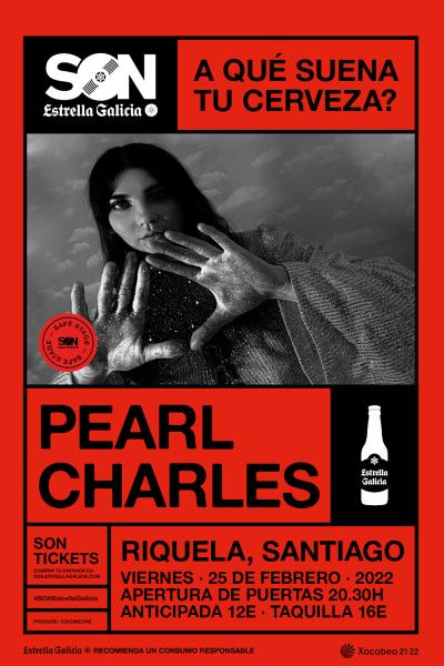 Pearl Charles en Santiago   SON Estrella Galicia