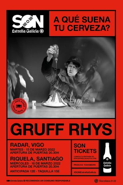 Gruff Rhyss en Santiago   SON Estrella Galicia