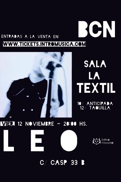 L E O en Barcelona / Sala La Textil