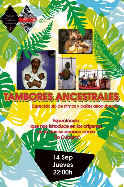 TAMBORES ANCESTRALES  Cubanos
