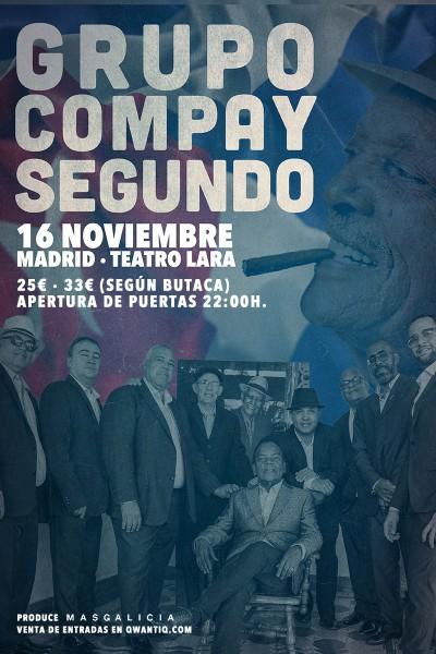 Grupo Compay Segundo en Madrid